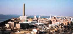 新宇多津市の景観
