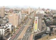 マンション屋上からの風景