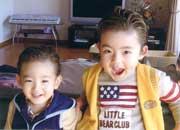 5歳の長男と3歳の次男