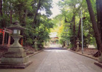 水度神社参道