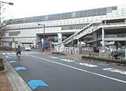 大阪モノレールの南摂津駅