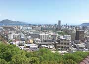 マンション屋上から望む景色