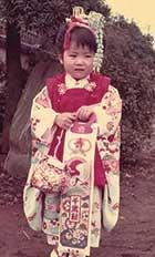 3歳の頃。七五三のお参り前