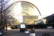 インテックス大阪。日本最大級の国際展示場。2007年11月30日縲鰀12月3日には、大阪モーターショーが開催された
