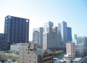 マンション周辺(大阪城方面)