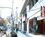 一流ブランドショップがある神戸旧居留地