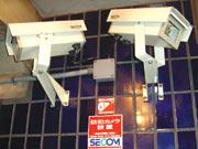 マンションに設置している防犯カメラ