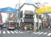 日吉駅周辺の商店街