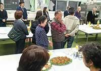 箱根住民学会後の懇親会