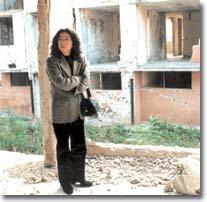 内戦後のサラエボにて(2001年)