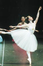 バレエの発表会にて