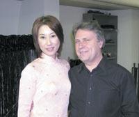 国立パリ・オペラ座管弦楽団のコンサートマスターアラン・グズネツォフさんと