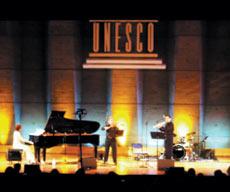 昨年11月のユネスココンサートにて