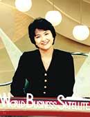 テレビ東京『ワールドビジネスサテライト』のスタジオにて