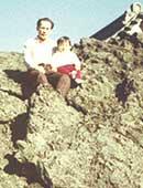 山登りが好きだった父と。浅間山にて
