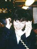1997年、山本周五郎賞受賞の知らせを受けた瞬間