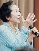 都内の他、最近は地方講演依頼も。90歳過ぎて珍しいのか依頼も多い