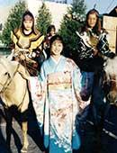 24歳のころ、モンゴルにて文化交流会