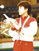 高校1年生。福岡国際女子柔道選手権大会において、日本代表として銅メダルを獲得