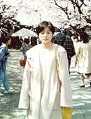 22歳、大学時代。上野公園にて