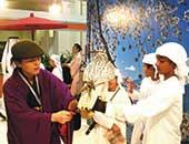 2010年アブダビの「国際狩猟と馬術の展示会」