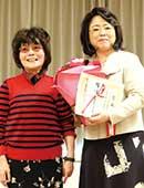 2014年猿橋賞受賞。米沢富美子先生と