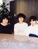 27歳。友人たちと編集プロダクションを設立したころ。右端が田口ランディさん