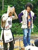 縄文友の会会長として青森県小牧野遺跡でイベントを開催