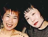 松竹シナリオ研究所24期の大原さんと。今も書いているのは私たち2人だけ