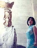 津田塾大学大学院博士過程3年生のころ。初めての海外旅行。イタリアで