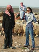 2009年5月、アレッポ近郊、ジャバル・ハスにて