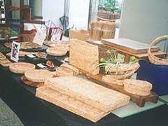 群馬県ふるさと伝統工芸品展出展風景