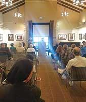 2017年7月16日 米 サンディエゴ Florence Riford 図書館、The San Diego Poetry Annual 詩歌朗読イベントにて