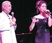ジャズシンガーの父・井上良氏とのジョイントコンサート