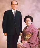 夫・智雄と蕗苳(60歳ごろ)
