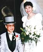 1996年、やなせ先生喜寿のお祝い。架空結婚式
