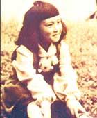 4歳の頃、公園にて
