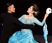 2015年8月、第100回AAR Japan〔難民を助ける会〕主催チャリティ公演 スーパー・ダンス・エンターテインメント【真夏の夜のゆめ】「オペラ座の怪人」。新国立劇場オペラパレスにて