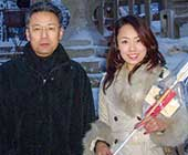 大学4年生のころ、父と網走神社へ初詣