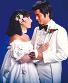 1979年、結婚式