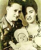 両親と3ショット