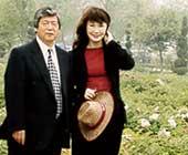 2005年ごろ夫と中国洛陽にて