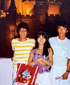 24歳。兄2人とディズニーランドへ