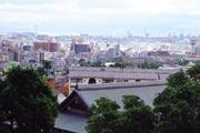 マンションより大阪湾を望む