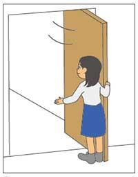 引き込み戸
