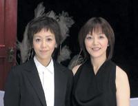 カバーアルバム「Dear Friends II」にて。 良美さんとのデュエット曲 「白い色は恋人の色」のプロモーションビデオ撮影にて