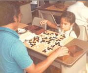 囲碁をはじめたころ、2年生