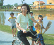 5年前、植樹のボランティアで訪れたベトナムにて