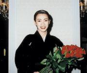 2001年7月2日宝塚歌劇団退団 (宝塚ホテルにて)