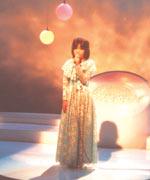 11才のとき。RBC琉球放送「カラオケ大会」にて